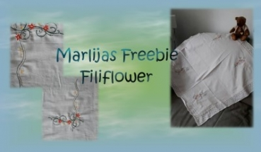 Freebie Fili-Flower